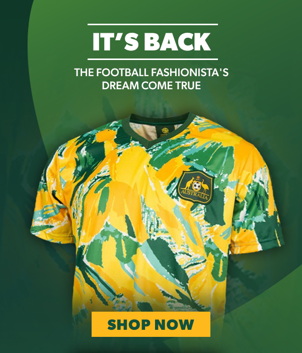 Socceroos 1990s Adults Retro Jersey